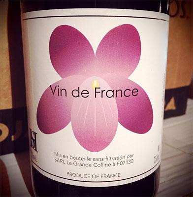 Domaine de la Grande Colline 2015 Syrah, Vin de France (Saint Joseph)