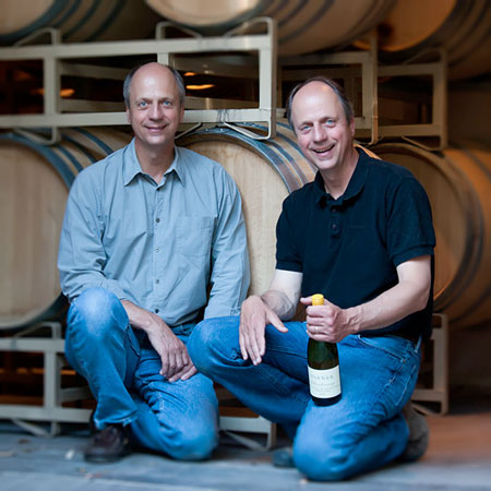 Twins Jim & Bob Varner