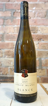 Domaine Paul Blanck 2018 Pinot Blanc, Alsace AOC