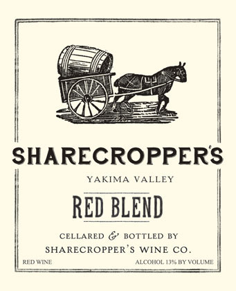 Owen Roe 2016 'Sharecropper's' Red Blend, Yakima Valley