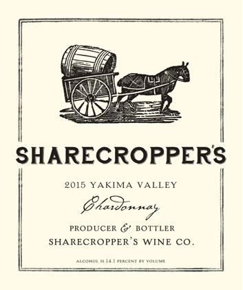 Owen Roe 2016 'Sharecropper's' Chardonnay, Yakima Valley