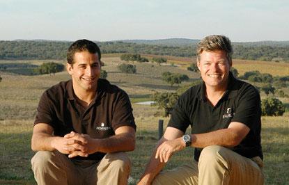 António Maçanita and David Booth
