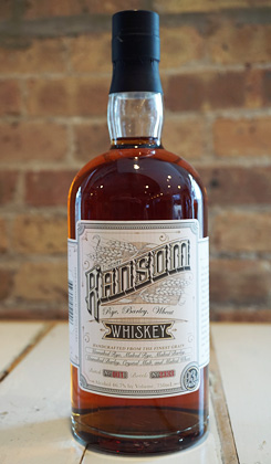Ransom Wines & Spirits Rye, Barley, Wheat Whiskey (93.4 proof)