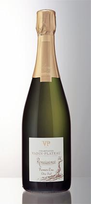 Champagne Vadin-Plateau NV 'Renaissance' Extra Brut, Champagne 1er Cru AOC