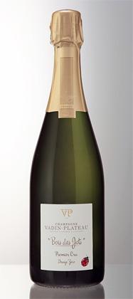 Champagne Vadin-Plateau 2012 Bois des Jots Zero Dosage, Champagne 1er Cru AOC
