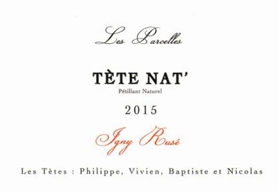 Les Tetes 2017 Les Parcelles 'Tete Nat' Blanc Petillant Naturel, Vin de France (Loire)