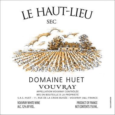 Domaine Huet 2019 Vouvray Sec, Le Haut-Lieu, AOC