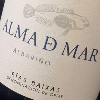 Bodegas Albamar 2015 'Alma de Mar' Albarino, Rías Baixas DO