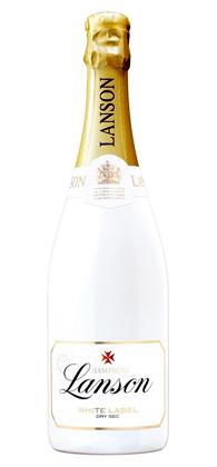 Champagne Lanson NV 'White Label' Dry Sec, Champagne AOC