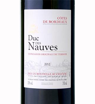 Chateau le Puy 2016 'Duc des Nauves' Cotes de Bordeaux AOC