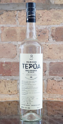 Rancho Tepua Bacanora Blanco, Sonora (96.2 proof)