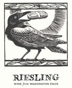 Corvidae 2018 Riesling, Yakima Valley