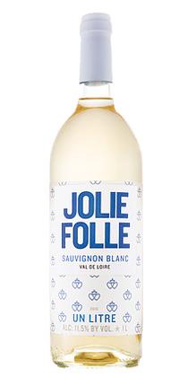 Jolie Folle (1 L) 2017 Sauvignon Blanc, Loire Valley