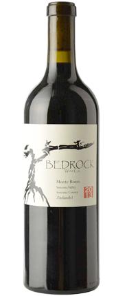 Bedrock Wine Co. 2015 Zinfandel, Monte Rosso Vineyard, Sonoma Valley