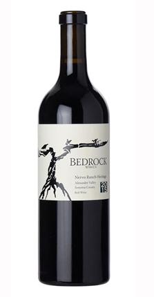 Bedrock Wine Co. 2015 Heritage Red, Nervo Ranch, Alexander Valley