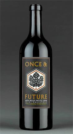 Once & Future 2018 Petite Sirah, Palisades Vineyard, Calistoga