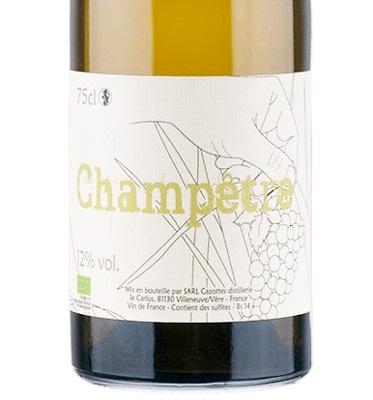 Laurent Cazottes 2019 'Champetre' Blanc, Vin de France (Gaillac)