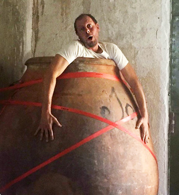 Daniel Ramos in an Amphora
