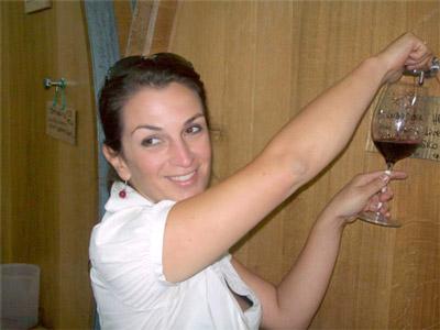 Angela Fronti, Owner (photo credit:http://percorsidivino.blogspot.com/2013/11/istine-il-chianti-classico-di-radda-ha.html)