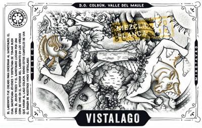 Rafael Tirado 2017 'Vistalago' Mezcla Blanca, Maule Valley