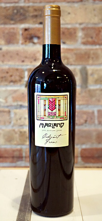 Wyncroft 2016 'Marland' Cabernet Franc, Lake Michigan Shore