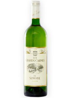 Chateau Simone 2014 'Les Grands Carmes de Simone' Blanc, Vin de Pays des Bouches du Rhone