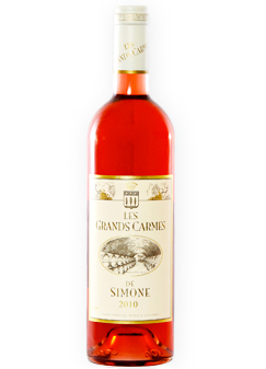 Chateau Simone 2014 'Les Grands Carmes de Simone' Rose, Vin de Pays des Bouches du Rhone
