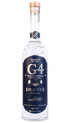 Tequila G4 Blanco (80 proof)