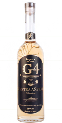Tequila G4 Extra Anejo (80 proof)