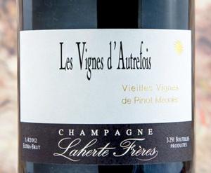 Champagne Laherte Frères 2013 'Les Vigne d'Autrefois' Extra Brut, Champagne AOC
