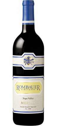 Rombauer Vineyards 2016 Merlot, Napa Valley