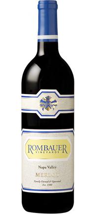 Rombauer Vineyards 2016 Merlot, Napa Valley