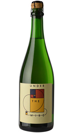 Under the Wire 2013 Sparkling Chardonnay, Brosseau Vineyard, Chalone