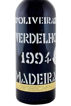 D'Oliveira 1994 Verdelho, Madeira DOC