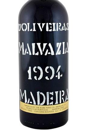 D'Oliveira 1994 Malvasia, Madeira DOC