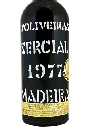 D'Oliveira 1977 Sercial, Madeira DOC