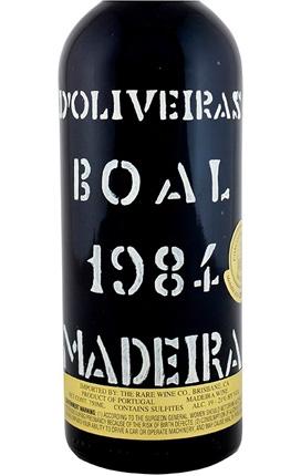 D'Oliveira 1984 Bual, Madeira DOC