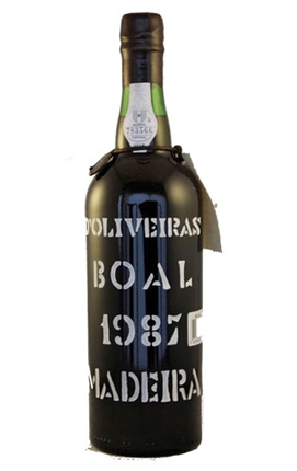D'Oliveira 1987 Bual, Madeira DOC