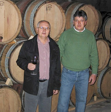 From left, Fransisco Selva and Pascual Olivares