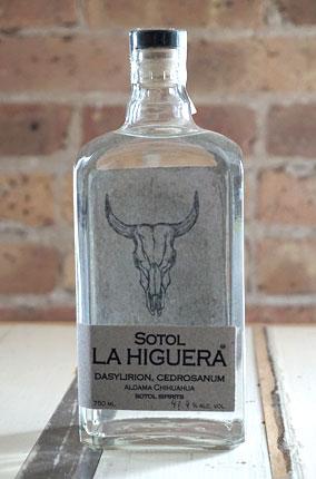 Sotol La Higuera Cedrosanum, Chihuahua (96 proof)