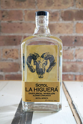 Sotol La Higuera Wheeleri, Chihuahua (96 proof)