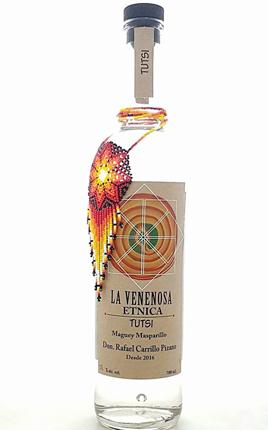 La Venenosa Tutsi 'Etnica' Maguey Masparillo (86 proof)