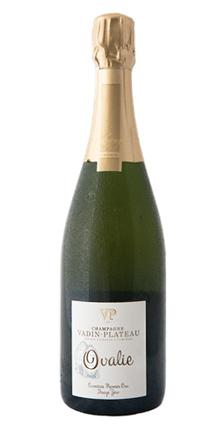Champagne Vadin-Plateau 2012 'Ovalie' Zero Dosage, Champagne 1er Cru AOC