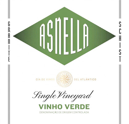 Asnella Vinho Verde Label