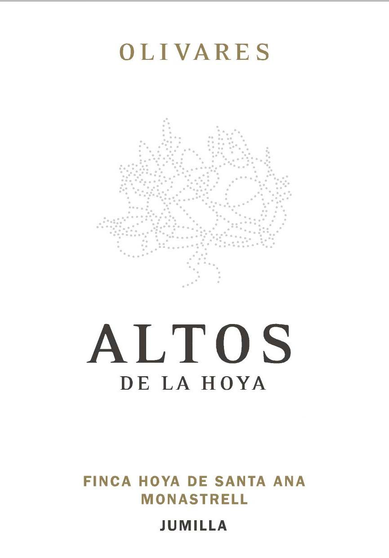 Bodegas Olivares 2016 'Altos De La Hoya' Monastrell, Jumilla DO