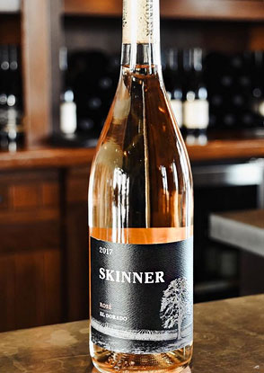 Skinner Vineyards 2017 Rose, El Dorado
