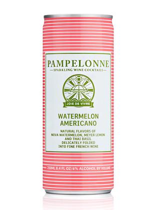 Pampelonne (250 ml) NV Watermelon Americano, France (4pk can)