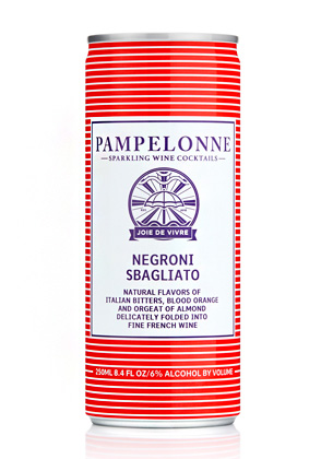 Pampelonne (250 ml) NV Negroni Sbagliato, France (4pk can)