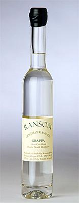 Ransom Wines & Spirits (375 ml) Gewürztraminer Grappa (80 proof)