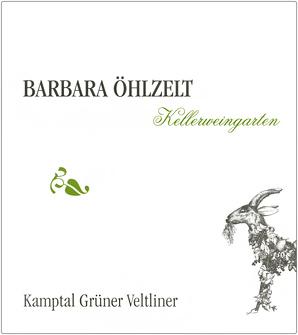 Barbara Ohlzelt 2017 Gruner Veltliner, Kellerweingarten, Kamptal DAC